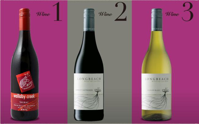 極旨新世界ワインハーフコース